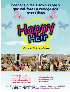 Happy Hair: salão de beleza para crianças