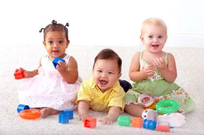 Brinquedos para bebês de 1 mês