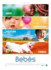 """Documentário francês """"Bebês"""": estréia nacional"""