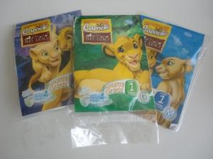 As fraldas Rei Leão são ótimas!