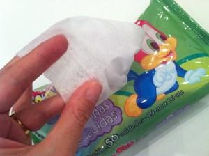 TESTE: toalhas e lencinhos umedecidos Pica Pau Baby da Capricho