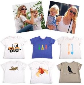 Camisetas descoladas