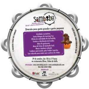 Sábado que vem (29/10), tem SamBaby Brasília! Edição RockBaby e Halloween!