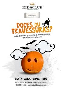 Kids Club: festa de Halloween (Brasília)