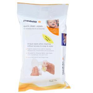 Quick Clean Wiper Medela: lenço antisséptico