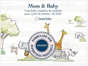 L'Occitane: linha de produtos Mom & Baby