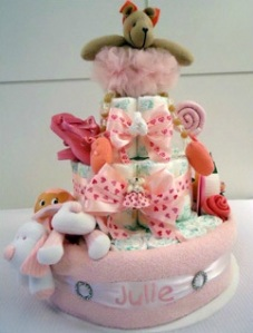 BabyCake: os mais LINDOS bolos de fraldas