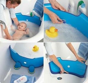 Baby Dam: para dar banho na banheira da mamãe