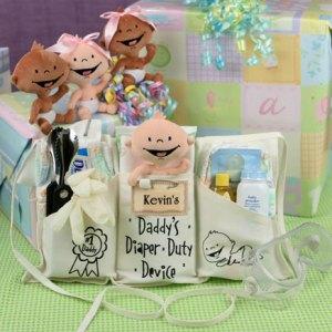 IDÉIA: para anunciar a gravidez ou presentear o papai – Kit de sobrevivência